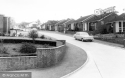 Woodbury, Long Park Road c.1965
