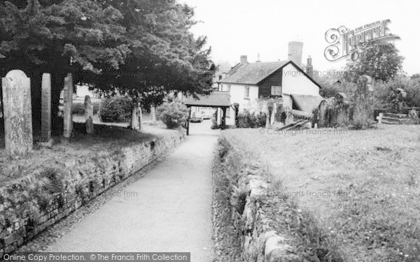Photo of Woodbury, Lychgate c.1965
