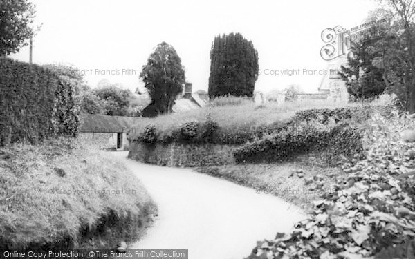 Photo of Woodbury, Path To The Church c.1965