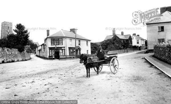 Photo of Woodbury, Post Office 1906