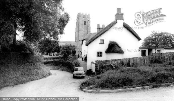 Photo of Woodbury, St Swithun's Church c.1965