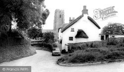 Woodbury, St Swithun's Church c.1965