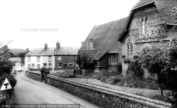 Photo of Woodbury, The School c.1965