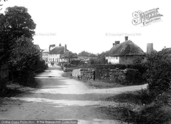 Photo of Woodbury, The Village 1907