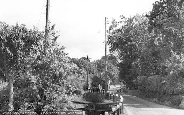 Photo of Woodbury, The Village c.1955