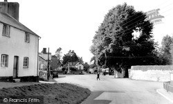Woodbury, The Village c.1955