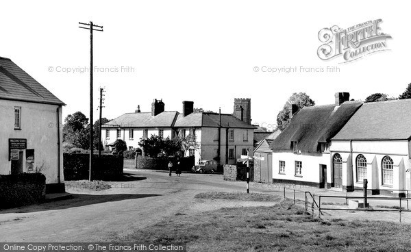 Photo of Woodbury, The Village c.1955