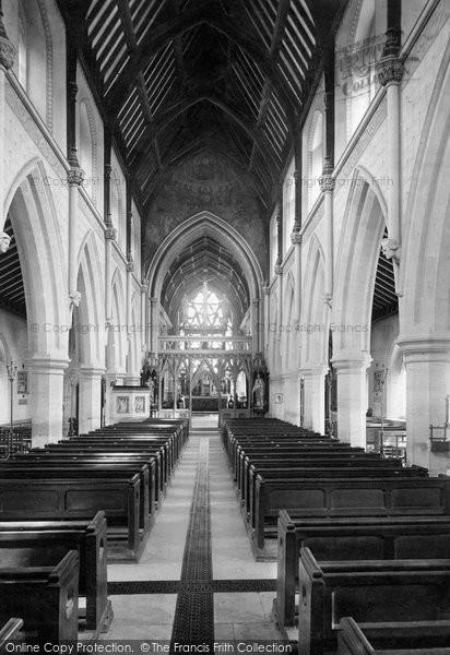 Photo of Woodchester, Roman Catholic Church Interior 1890