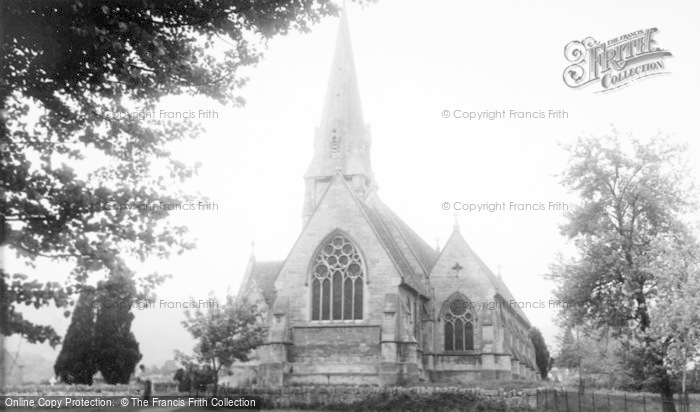 Photo of Woodchester, St Mary's Church c.1955