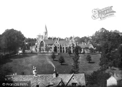 The Monastery And Roman Catholic Church 1900, Woodchester