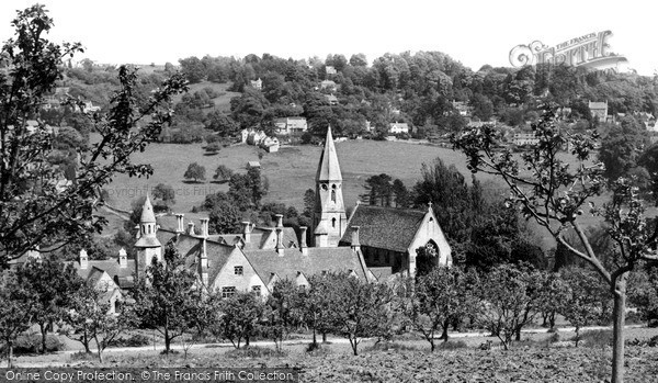 Photo of Woodchester, The Monastery c.1960