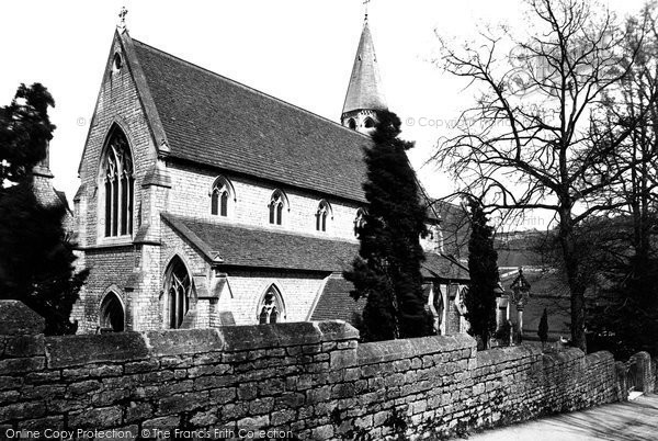 Photo of Woodchester, The Roman Catholic Church 1890