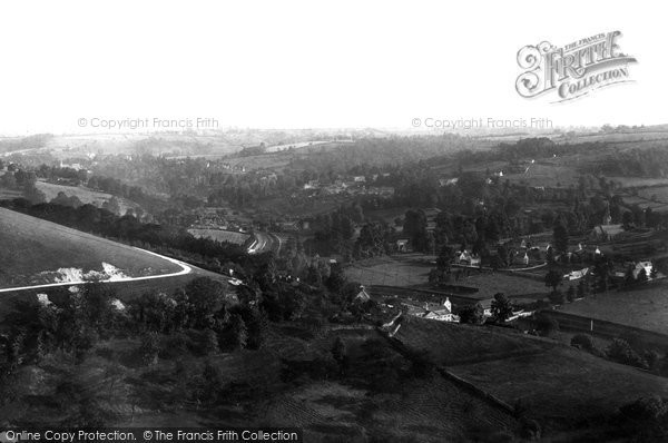 Photo of Woodchester, The Valley 1900