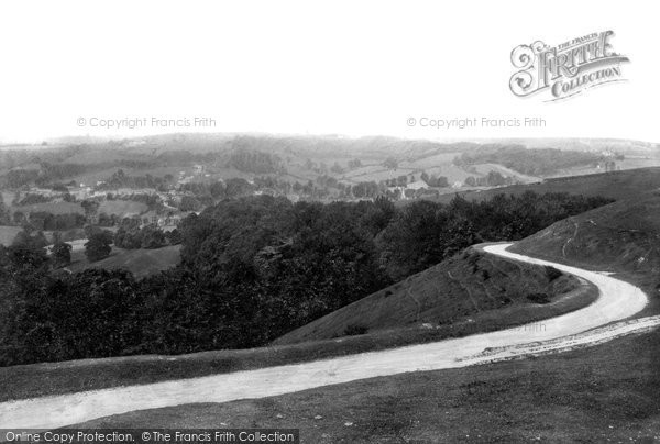 Photo of Woodchester, The Valley 1910