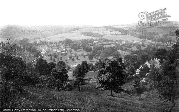 Photo of Woodchester, The Valley And The Monastery 1910