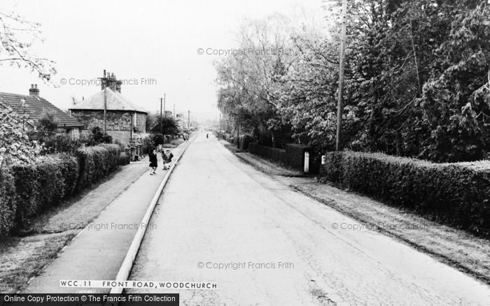 Photo of Woodchurch, Front Road c.1965