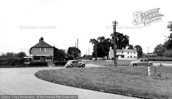 Photo of Woodcote, Crays Pond c.1955