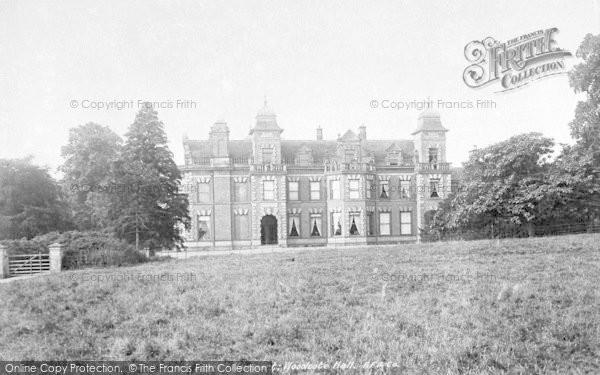 Photo of Woodcote, Woodcote Hall 1899