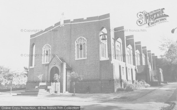 Photo of Woodford Bridge, Chapel Of The Good Shepherd, Dr Barnardo's Homes c.1960