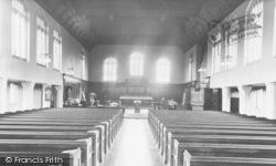Woodford Bridge, Church Interior, Chapel Of The Good Shepherd c.1950