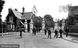 Woodford Bridge, Claybury Mental Hospital Entrance 1921