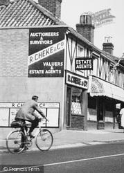 Woodford Bridge, Estate Agents c.1955