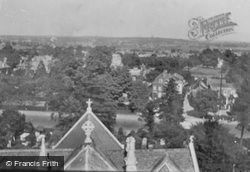 From Church Tower 1921, Woodford Bridge