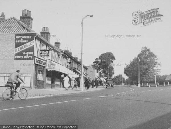 Photo of Woodford Bridge, High Road c.1955