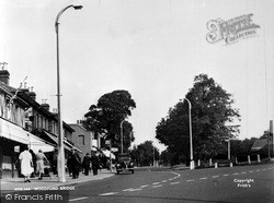 Woodford Bridge, High Road c.1955