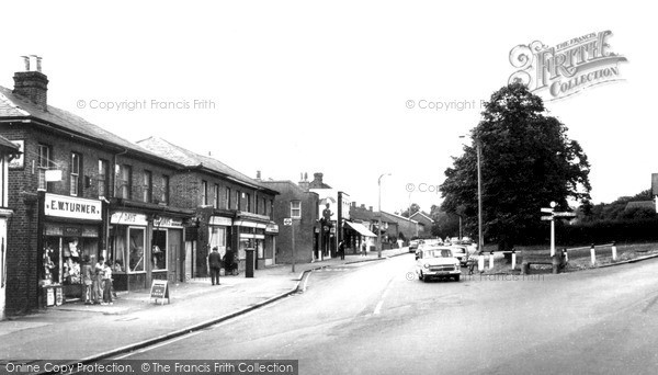 Photo of Woodford Bridge, High Road c.1965