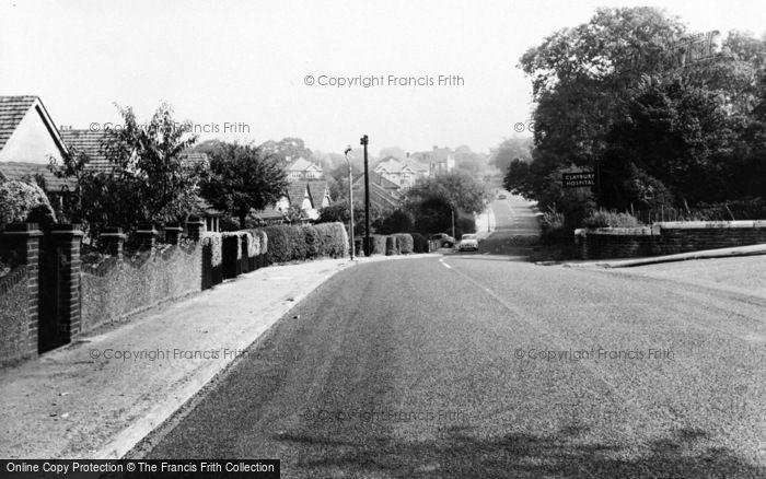 Photo of Woodford Bridge, Manor Road c.1960