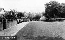 Woodford Bridge, Manor Road c.1960