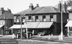 Woodford Bridge, Shops, The High Road c.1955