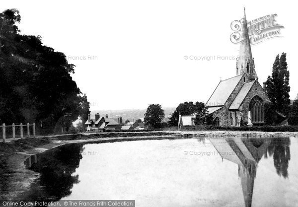 Photo of Woodford Bridge, St Paul's Church 1908