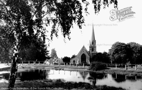 Photo of Woodford Bridge, St Paul's Church c.1960