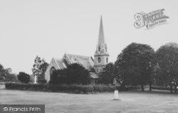Woodford Bridge, St Paul's Church c.1965