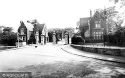 Woodford Bridge, The Entrance Claybury Hospital c.1960