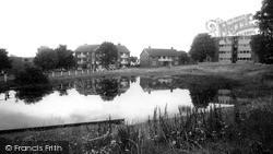 Woodford Bridge, The Pond c.1965