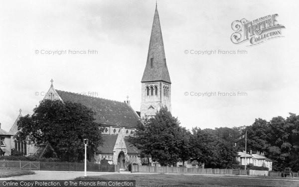 Photo of Woodford Green, All Saints Church 1903