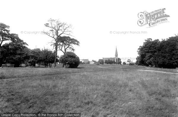 Photo of Woodford Green, All Saints Church 1904