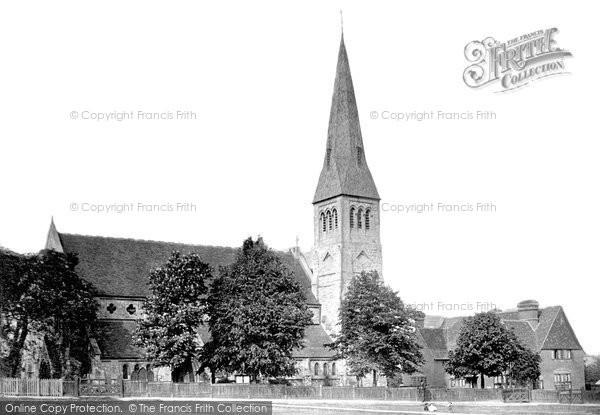 Photo of Woodford Green, All Saints Church 1908