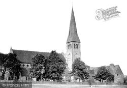 Woodford Green, All Saints Church 1908