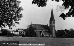 Woodford Green, All Saints Church c.1950