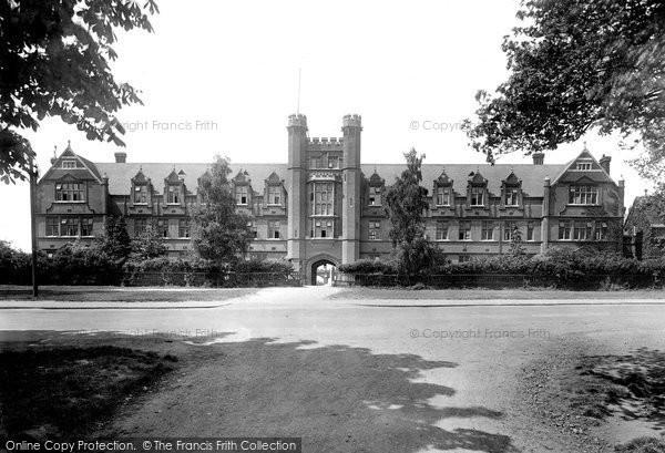 Photo of Woodford Green, Bancroft's School 1921