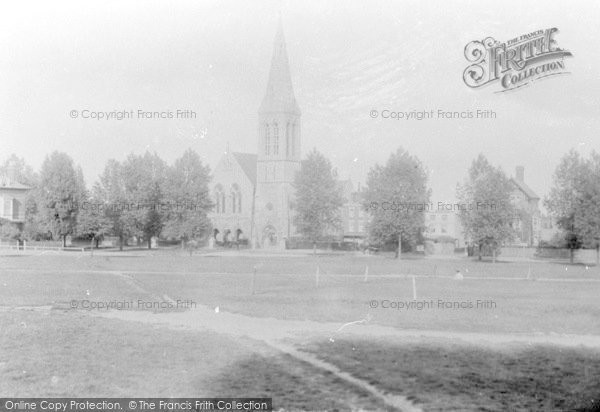 Photo of Woodford Green, Congregational Church 1904