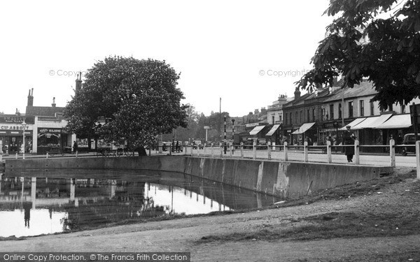 Photo of Woodford Green, High Road c1955