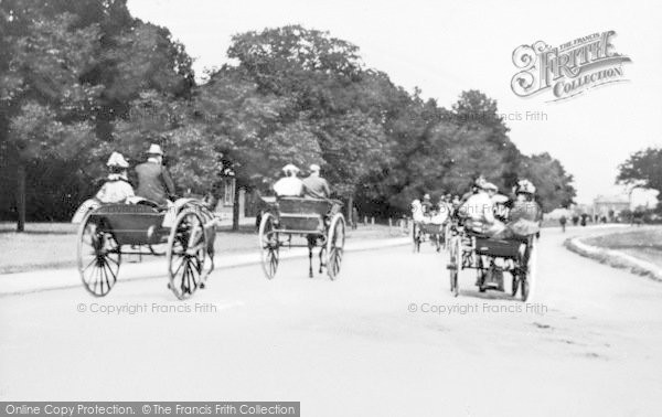 Photo of Woodford Green, Sunday Afternoon On The High Road c.1900