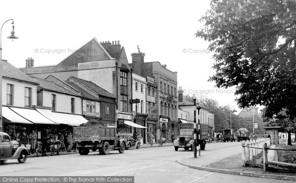 Photo of Woodford Green, The High Road c.1950