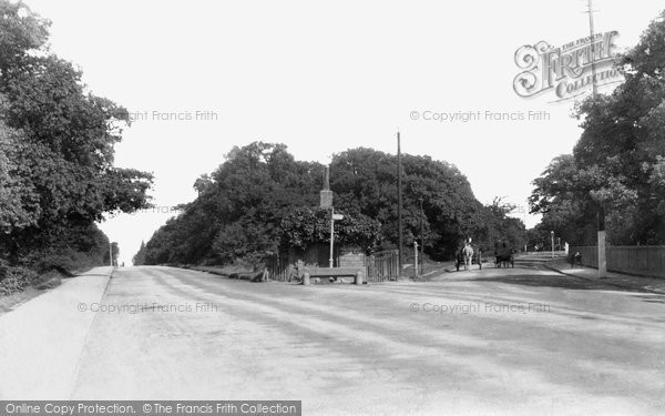 Photo of Woodford Green, The Old Toll Gate, Epping New Road 1903