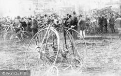 Woodford Green, Woodford Cycle Meet c.1890